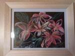 Flowers mit Holzrahmen 15 cm x 20 cm Preis: € 35,--