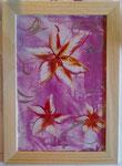 Lilien in Holzglasrahmen 30 cm x 20 cm € 50,--