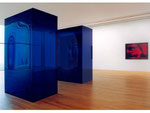 Dunja Evers - Blaue Dinger / 1994-2000 / blue, tranparent acrylic glass / each 258,5 x 160,0 x  98,5  cm