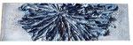 Seidenpapier, Spachtelmasse, Acrylfarbe, 40 x 100 cm