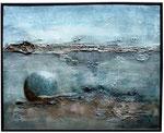 11. Acrylfarbe, Kreide, 50 x 60 cm