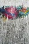 5. Acrylfarbe, Spachtelmasse, 50 x 70 cm