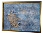 Mull, Acryl, Rost, Spachtelmasse, 80 x 60 cm
