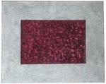 27. Ü-Eier, Spachtelmasse in Beton optik, 100 x 80 cm