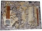 Jute, Anpflanztopf, div. Gegenstände, 50 x 70 cm