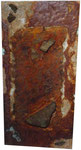 Sand, Stein, Rost, 50 x 100 cm
