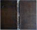 24. Fliesenkleber, Rost, Nägel, 50x60 cm