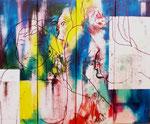 2002   Ladyla ,   100 x 120 cm , vierteilig   auf Leinwand