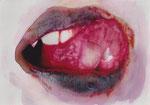 2014  Mit dem Kusse deines Mundes - X,   17 x 24 cm