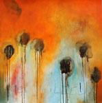 2014  Le jardin merveilleux - II,   100,4 x 99,7 cm