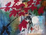 2011   Ihr Weg ,    60 x 80 cm ,    auf Leinwand