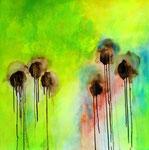 2014  Le jardin merveilleux - III,   100,4 x 99,4 cm