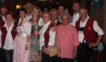 Die Oderbrucher Blasmusik gratulierte mit einem musikalischen Geburtstagsstrauß