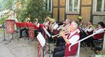 Die Oderbrucher Blasmusik beim 7. Heimatfest