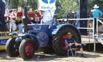 An Traktoren mangelte es an diesem Tag nicht