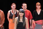 """25 juin 2011, 6ème printemps des  Université Populaire Cité du Livre, Aix, avec le groupe de slam """"New Slam Crew"""" d'Aix-du centre social Les Amandiers"""