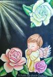 バラ・天使・祈り