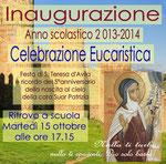 S. Maria Capua Vetere, Suore Carmelitane di S. Teresa di Torino, Inaugurazione dell'anno scol. 2013-2014
