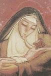 Mina Anselmi - S. Maddalena e il Crocifisso (XX sec.)
