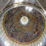 Cupola di S. Frediano - Anton Domenico Gabbiani, Gloria di S. Maddalena (1701)