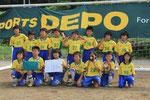 【2014年6月】第14回大島カップサッカー大会(U-10)  準優勝