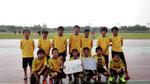 【2014年7月】第19回三国カップ(U-12) 準優勝