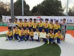 【2014年11月】第20回北信越少年サッカー新人大会(U-11) 3位