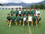 【2015年8月】第11回千曲市体育協会長杯U-11(トレセンU-11) 3位