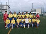 【2015年11月】第14回北信越U-12少年サッカー大会(U-12)  総合3位