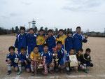 【2016年3月】第35回レッドカップ(U-12) 優勝