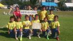 【2015年7月】第2回みなみサマーサッカー大会(U-12) 3位