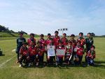 【2015年7月】第25回北電カップ(トレセンU-12) 優勝(大会2連覇)