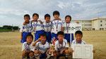 【2014年8月】第12回東明ジュニアカップサッカー大会(U-9) 準優勝