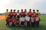 【2014年11月】第33回丸岡町招待サッカー大会(トレセンU-12・) 優勝