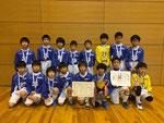 【2016年1月】第17回すこやかカップ(U-11)  優勝