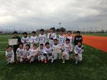 【2015年11月】第34回丸岡招待サッカー大会(トレセンU-12) 優勝