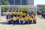【2014年6月】第33回新湊レッドサンダース杯(U-10) 3位