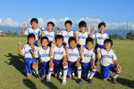 【2014年9月】第6回U-9はりはらカップサッカー大会(U-9) 準優勝