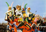 Cartolina Carnevale di Viareggio (Vespignani) opaca