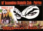 Cartolina 18° assemblea Diabolik Club Poirino 2
