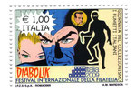 Cartolina cartolinea n° 1279 (francobollo poste Italiane)