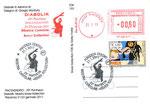 Cartolina FDK 153 retro con Specimen del 21/01/2011 e annullo Poste Italiane del 21/01/2011 Piacenza
