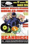 Cartolina 6° Mostra mercato Scandicci (Marzo 2015) fronte