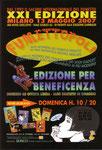 """Cartolina invito """"XXI Fumettopoli"""" 13 Maggio 2007 - 2° versione"""