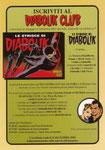 Cartolina Iscriviti al Diabolik Club 2004