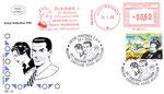 """Busta 23° pantheon """"Ginko e Altea""""  con specimen """"Eva"""" del 25/1/2008 e annullo poste Italiane 26/1/2008"""