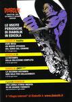 """Cartoline invito """"XXIX Fumettopoli"""" 19 e 20 Settembre 2009 retro"""