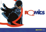 "Folder Poste Italiane ""Romics 2015"" fronte"