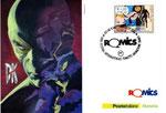 "Cartolina Poste Italiane ""Romics 2015"" fronte"