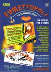"""Cartolina invito """"XXVIII Fumettopoli"""" 10 Maggio 2009 (Grande Formato)"""